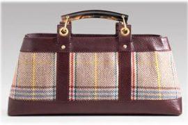 Burberry Plaid Wool Bag