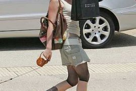 I spy Hillary Duff with her Fendi Spy Bag