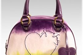 Juicy Couture Tye Dye Velour Bowler Bag