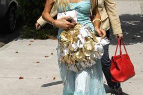 Fugly Feather Flight of Paris Hilton