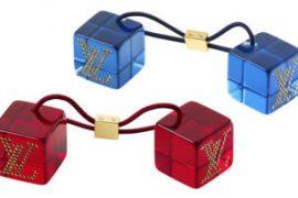 Louis Vuitton Hair Cubes Strass