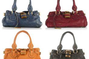 Chloe Paddington Bags