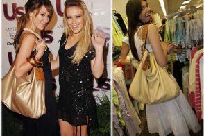 Name Haley Duff & Brittny Gastineau's Bag!