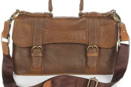 Marni Washed Leather Concertina Bag
