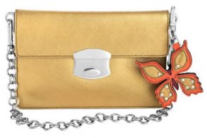 Prada Leather Envelope Bag