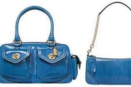 Coach Python Bags