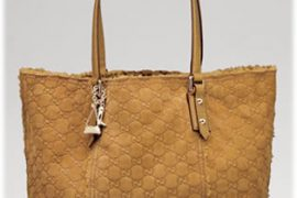 Gucci Large Shearling Tote