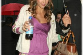Identify Jessica Alba's Gucci Bag