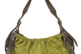 Burberry Heather Suede Bag
