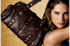 Chloe Python Doctor's Bag