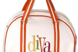 "Jana Feifer JAM Large ""Diva"" Leather Bowler Bag"