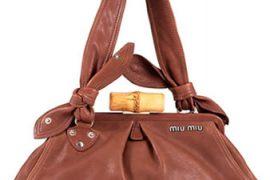 Miu Miu Framed Leather Bag