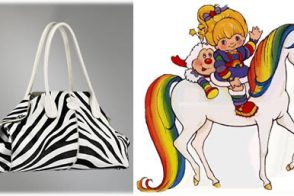 Tod's Girelli East/West Zebra-Print Pony Bag