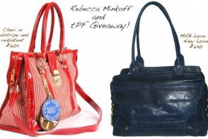 Rebecca Minkoff and tPF Giveaway!