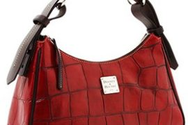 Dooney and Bourke Croco Large Hobo