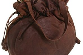 Lucky Brand Tulip Leather Drawstring Satchel