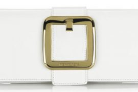 Michael Kors Sutton Patent Clutch