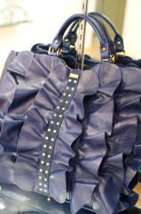 Be & D Kan Kan Tote in Navy/Gold - $1,390