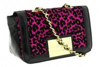 Betseyville Cha Cha Cheetah Flap Shoulder Bag