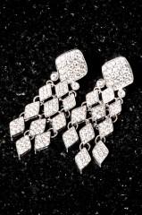 Diamond ear rings by Future Fashionista