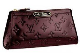 Louis Vuitton Monogram Vernis Cosmetic Pouch MM