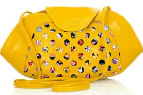 See by Chloé Patent Cutout Shoulder Bag