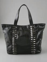 7 For All Mankind Metal Link Link Large Tote