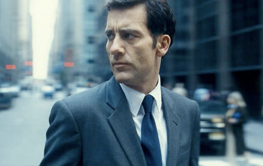 "Clive Owen in Armani in the movie ""Duplicity"""