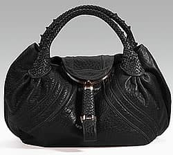Black Fendi Spy Bag