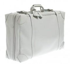 JCrew Lugano Leather Suitcase