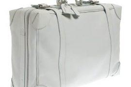 J.Crew Lugano Leather Suitcase