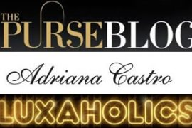 Purse Blog and Luxaholics Team with Adriana Castro