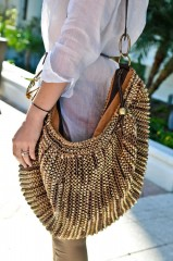 Megs with her DvF Stephanie bag