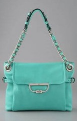 Mulberry Creased Jenah Bag in Turquoise