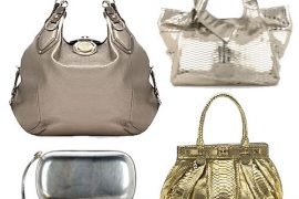 The Find: Metallic Handbags Made Marvelous Again