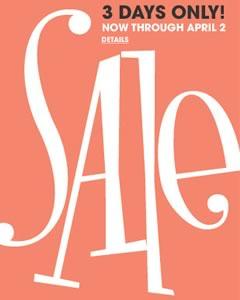 Bloomingdale's Sale