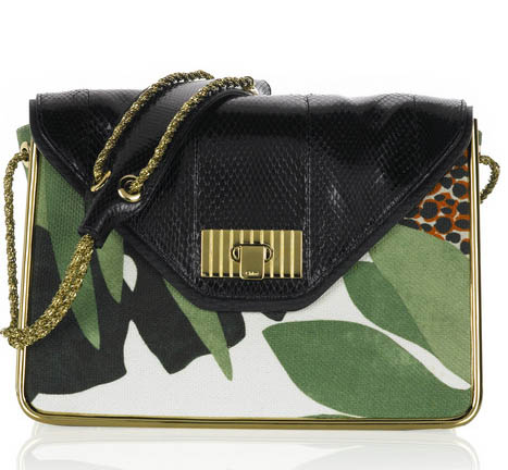 Chloe Sally Bag in Safari Print