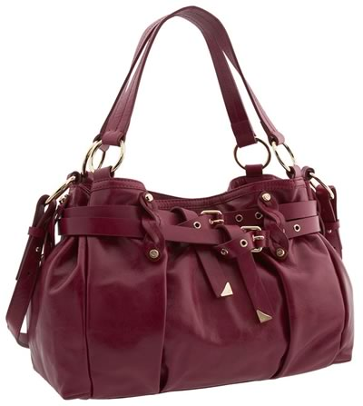 Francesco Biasia Lillian Double Belted Satchel