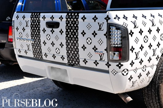 Louis Vuitton Monogram Printed Dodge RAM 1500