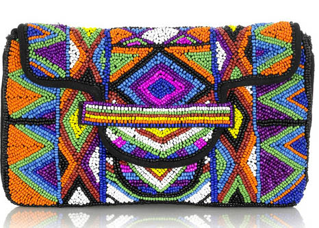 Maje Jelica Beaded Bag