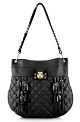 Marc Jacobs Quilted Multi-Buckle Hobo