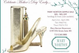 Mary Norton Sample Sale