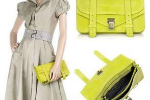 Proenza Schouler PS1 Leather Pochette