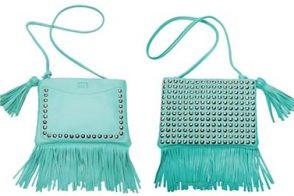 Sonia Rykiel Stud Fringe Handbag