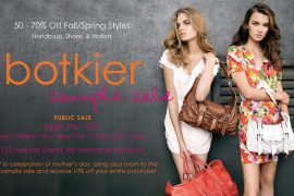 Botkier Sample Sale