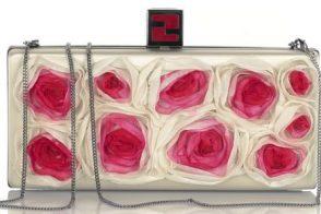 Fendi Floral Box Clutch