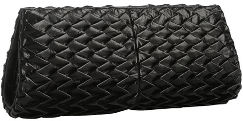 Ted Rossi Pleated Eel Clutch