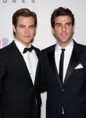 Zachary Quinto and Chris Pine of 'Star Trek'