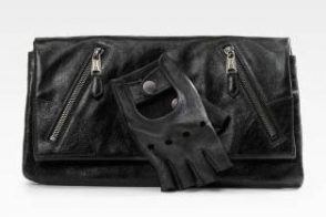 Alexander McQueen Faithful Leather Glove Clutch