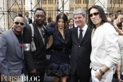Black Eyed Peas at Louis Vuitton